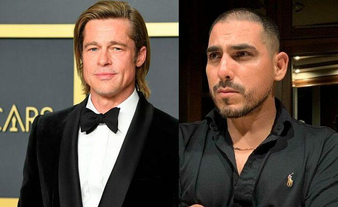 Brad Pitt y Espinoza Paz
