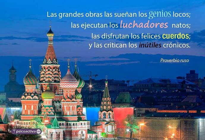 ▷ 40 proverbios rusos: sabiduría rusa a tu alcance - PsicoActiva
