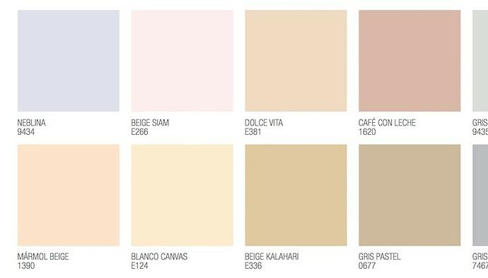 Colores pastel - pintorist.es